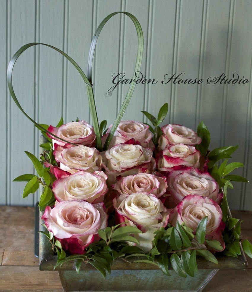 Unique Floral Design Ideas: Valentine Flowers-Thinking Outside The Vase