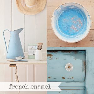 French Enamel Miss Mustard Seed Milk Paint