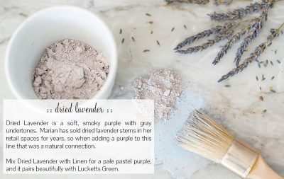 Dried Lavender-Miss Mustard Seed Milk Paint