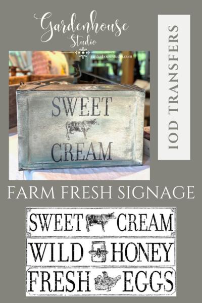 Farm Fresh Signage Transfer