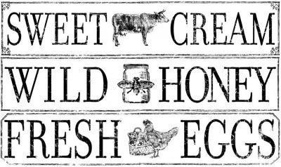 iod transfers farm fresh signage