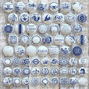 iod stamps knob toppers