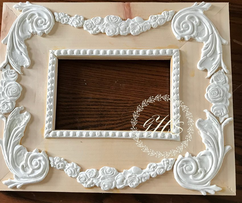 IOD Moulds diy Picture Frame