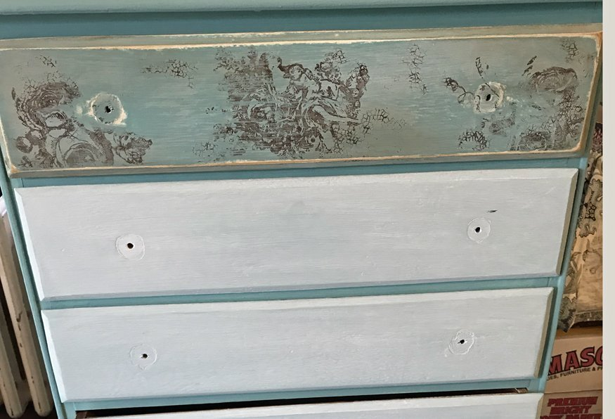 iod stamped dresser