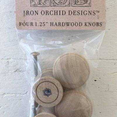 Iod Wooden Knobs