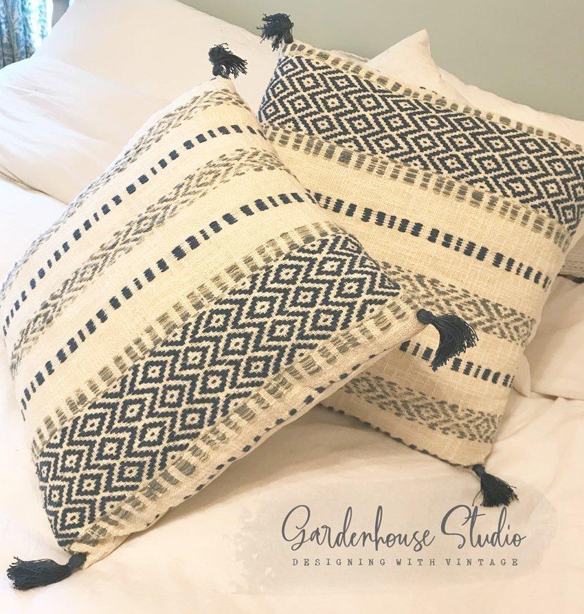 Magnolia Home Knock-Off Pillow