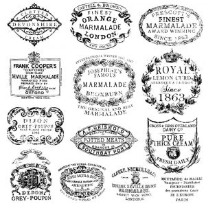 Crockery Stamp IOD