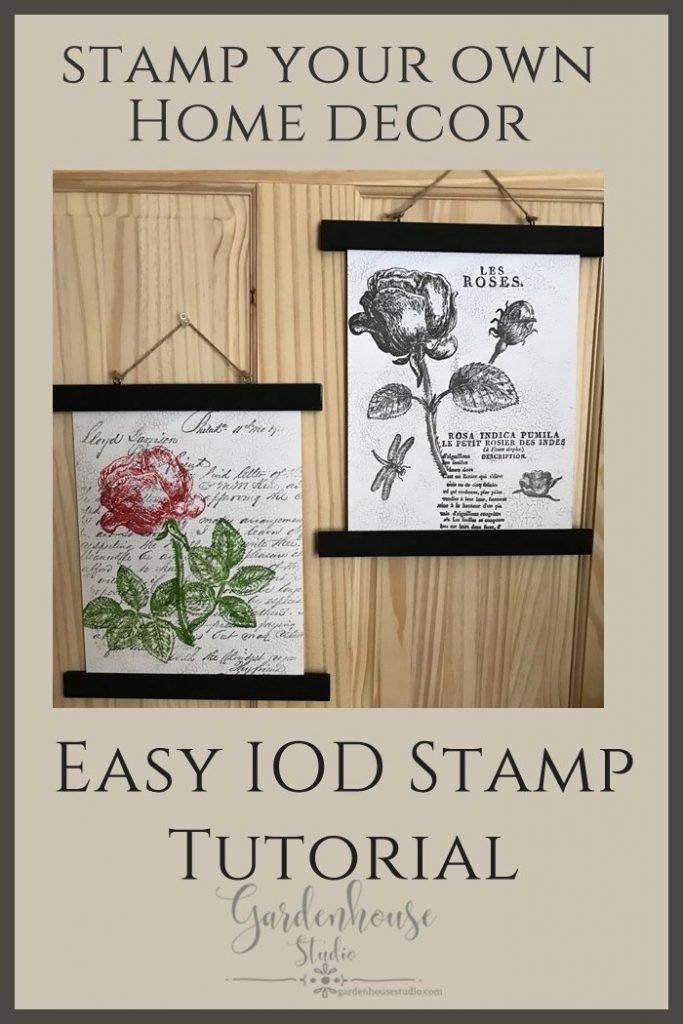 IOD Stamps Tutorial