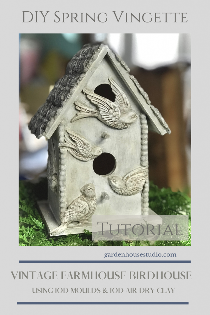 Spring Decorating with IOD Decor Moulds