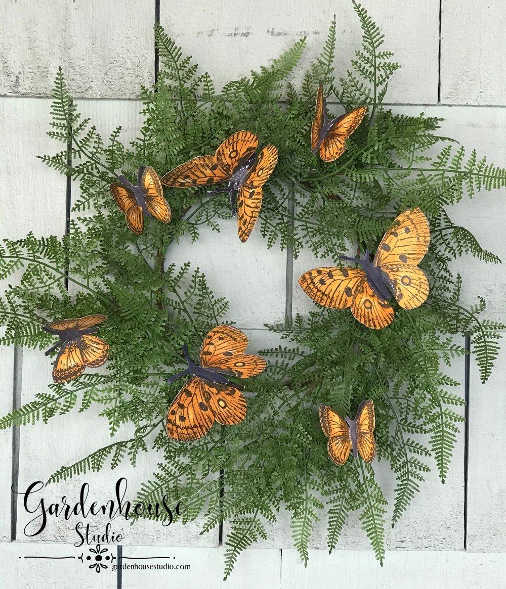 IOD Butterflies Stamp
