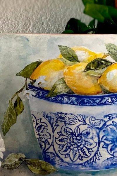 iod lemons in a bowl kit
