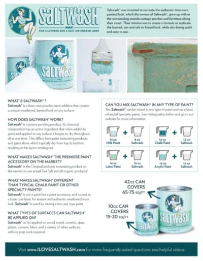 Saltwash Directions