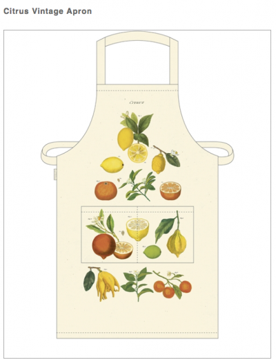 Vintage Graphic Aprons by Cavallini