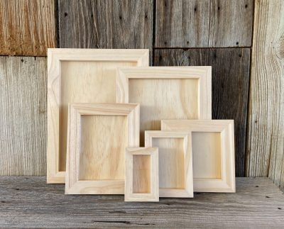 Wooden Project Boards