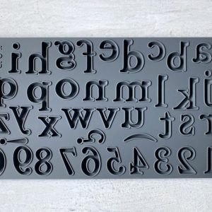 Harper Alphabet IOD Mould