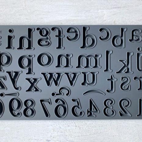 Harper Alphabet IOD Mould