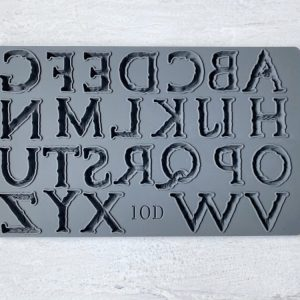 Victoria Letters IOD Mould