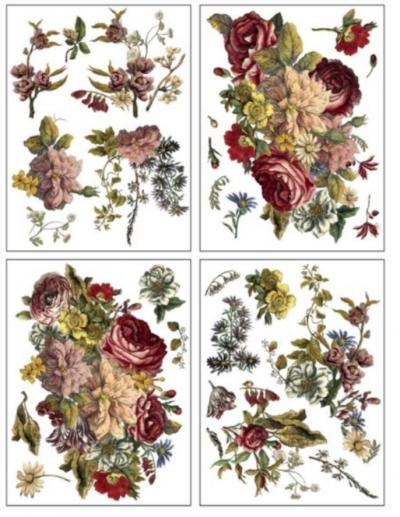 Floral Anthology IOD Transfer